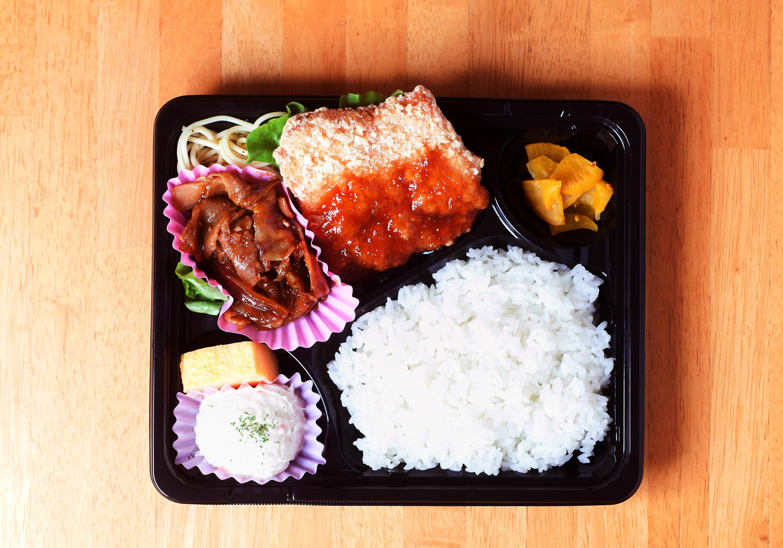 焼き肉&チキン竜田弁当